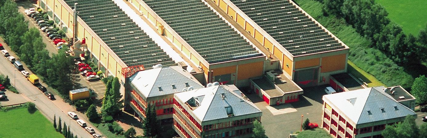 Luftaufnahme der Firma TAPROGGE