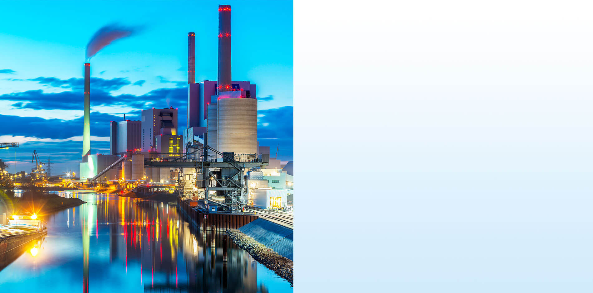 Efficiency in Energy and Water: Kraftwerke und Industrie